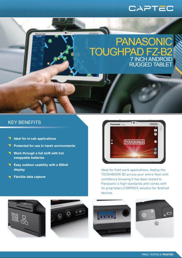 "LCD Screen Display Panel Touch Digitizer For 7/"" Panasonic FZ-B2"
