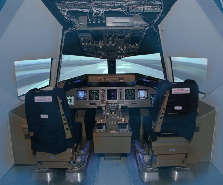 Cockpit Motion Facility duotone 768x637 - Case Stories