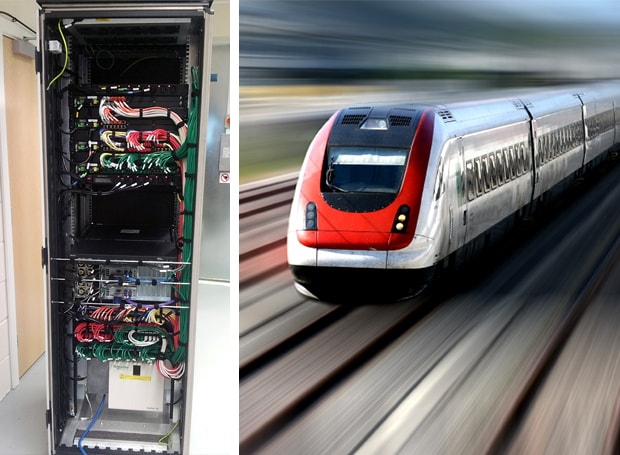 Blog - Racks for rail - Captec