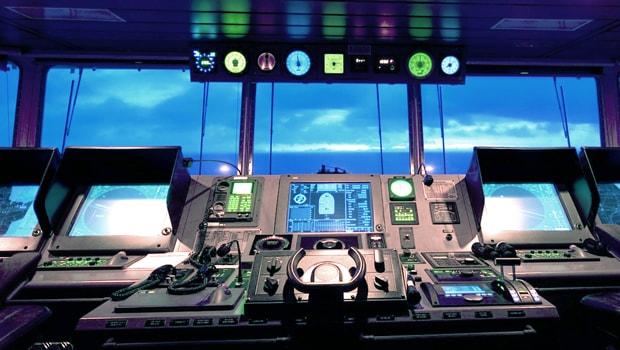 Marine Simulation Integration: Ship's Bridge Installation - Captec