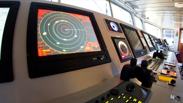 Marine Simulation Integration: Ship's Bridge Installation - Captec