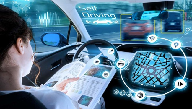 autonomous vehicles driverless cars