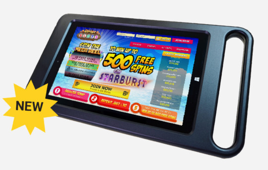 10Inch tablet 1 540x344 - Electronic Bingo Solutions