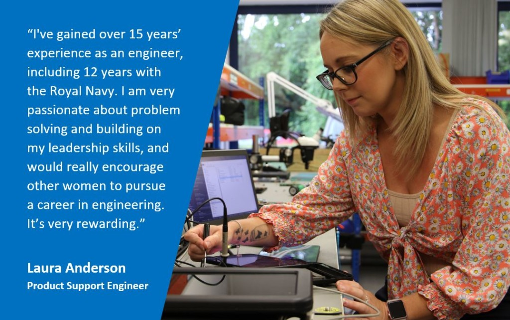 INWED19 Laura 1024x642 - Women in Engineering #INWED19