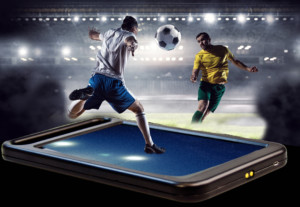 Football tablet 300x207 - Electronic Gaming Hardware: Mobile vs Fixed Terminals